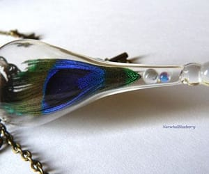 Glass Bottle, handmade necklace, and made in spain image