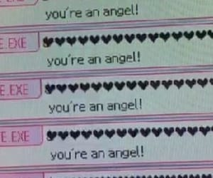 angel, heart, and pink image