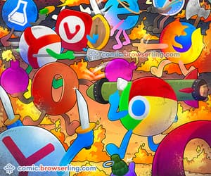 browser, cross-browser testing, and cartoon image