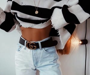 abs, belt, and fashion image