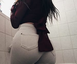 ass, bathroom, and booty image