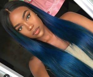 hair, makeup, and beautiful image