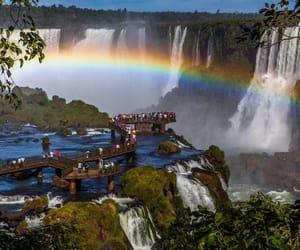 argentina, brasil, and Iguazu Falls image