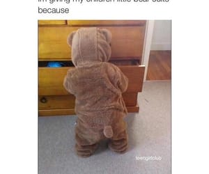 bear suit, children, and teen girl club image