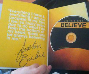 believe and justin bieber image