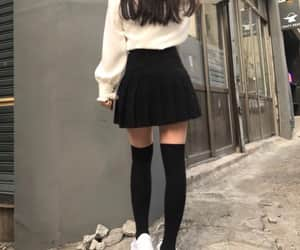 fashion, girl, and korean image