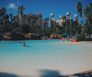 blue, ocean, and vacation image