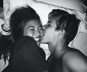 b&w, couple, and goals image