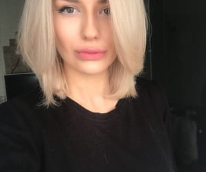 blond, fashion, and style image
