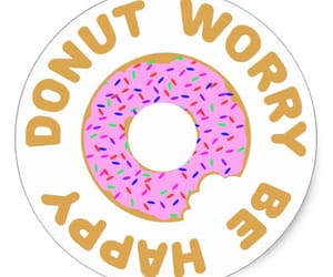 donuts, word play, and funny image