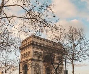 arc de triomphe, paname, and paris image