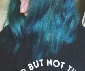 aesthetic, bluehair, and color image