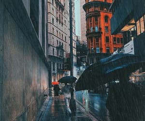 city, photography, and rainy image