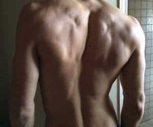 aesthetic, back, and boy image
