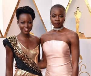 oscars, danai gurira, and black panther image