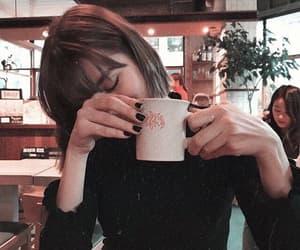 girl and tea image