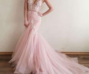 wedding dress, bridal dress, and mermaid wedding dress image
