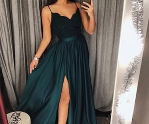 fashion, style, and prom dress image