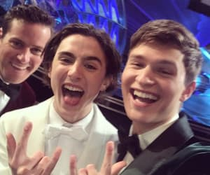 ansel elgort, timothee chalamet, and oscar image