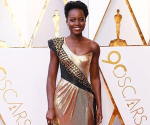 oscar, lupita nyong'o, and black panther image