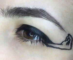 arte, delineador, and eye image