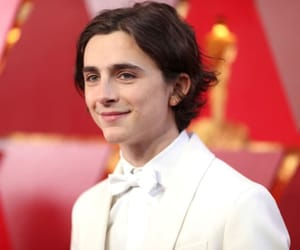 oscars, timothee chalamet, and white image