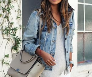 casual, jacket jeans, and clothes image