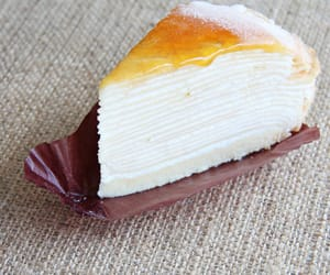 crepe cake, singapore, and mille crepe image