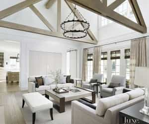 interiors, living room, and homes image