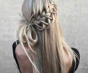 girl, hair, and haitstyle image