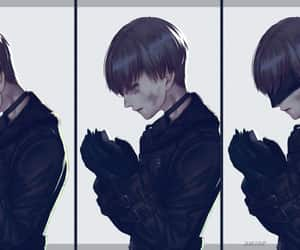 android, anime, and black image