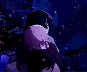 couple, cry, and mirai nikki image
