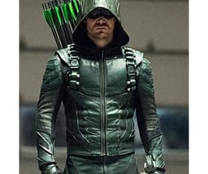 leather jacket, green arrow, and stephen amell image