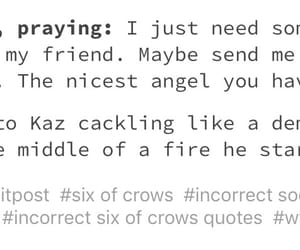 books, tumblr, and six of crows image