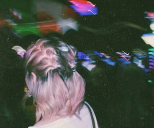 colors, girl, and grunge image