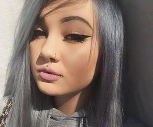 blue eyes, sunshine, and selfie image
