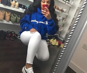 black hair, goals, and blue image