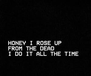 black, dead, and Lyrics image