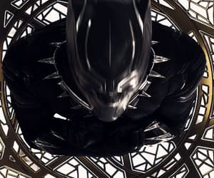 black panther, film, and gif image