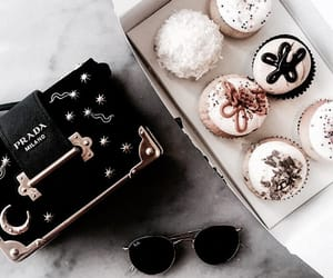 cupcake, fashion, and food image