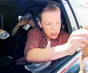 car, will poulter, and maze runner image