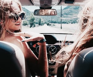 friends, summer, and car image