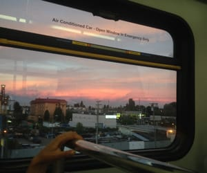 sky, grunge, and sunset image