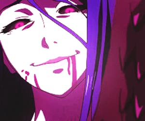 ghoul, tokyo ghoul, and rize kamishiro image