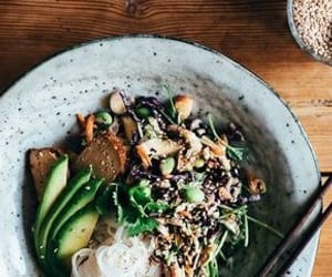 avocado, beans, and breakfast image