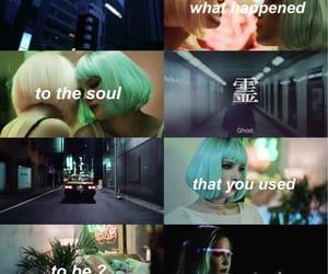 aesthetic, ghost, and Lyrics image