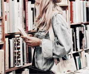 books, fashion, and style image