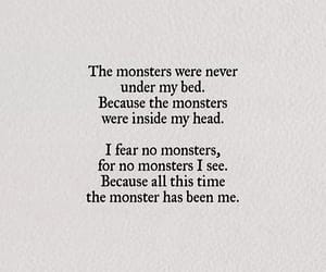 quotes, monster, and book image
