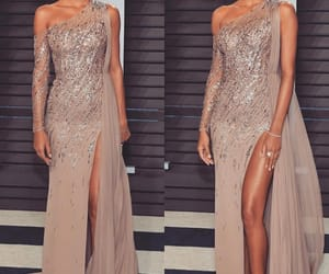 dress, glam, and model image