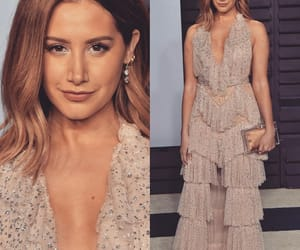ashley tisdale, dress, and glam image